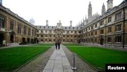 영국 외무부가 북한 주민들을 대상으로 영국에서 석사학위 과정을 공부할 장학생을 모집하고 있다. 사진은 영국 캠브리지대학 정경.