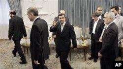 Başbakan Recep Tayyip Erdoğan ve İran Cumhurbaşkanı Mahmud Ahmedinejad
