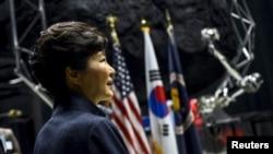 韩国总统朴槿惠(资料照片)