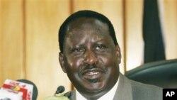 នាយករដ្ឋមន្ត្រីកេនយ៉ា លោក រ៉េឡា អូឌិនហ្គា Raila Odinga។
