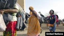 Eritrean refugees arriving at Kilo 26 refugee camp in eastern Sudan. (UNHCR)
