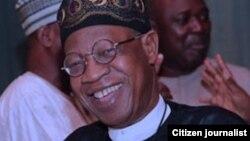 Lai Muhammad ministan watsa labaran Nigeria