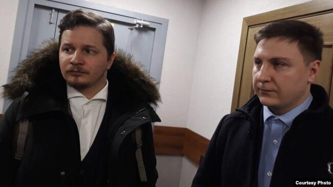 Адвокаты Богдана Литвина - Виктор Воробьев и Александр Передрук