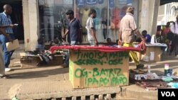 Some of vendors fear that they may register huge loses. (Photo: Patricia Mudadidgwa)