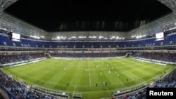 Новый футбольный стадион «Калининград» в Калиниграде, Россия (архивное фото)