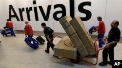 Зона прилета лондонского аэропорта «Хитроу»
