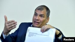 Екс-президент Еквадору Рафаель Корреа