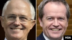 Kandidati Konzervativne i Laburističke stranke su u tesnoj trci na izborima u Australiji