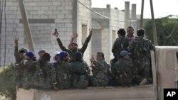 Endamên Hêzên Sûrya Demokrat HSD'ê