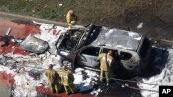 Spasilačke ekipe na mestu eksplozije u Kazanu