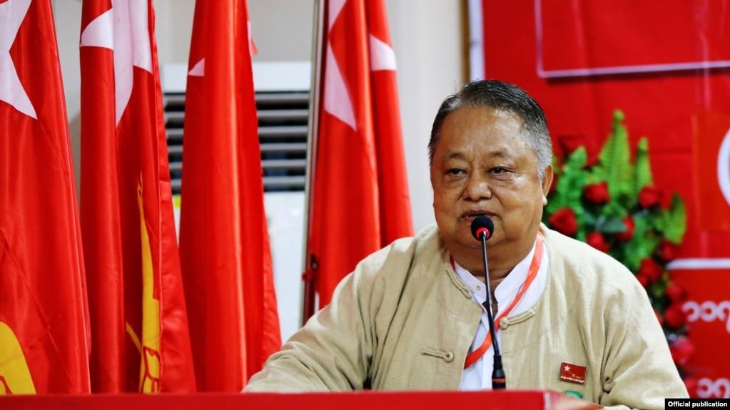 NLD ပါတီ ဗဟိုအလုပ္အမႈေဆာင္ ဦး၀င္းထိန္(national league for democracy)