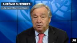 Sekjen PBB,Antonio Guterres dampak Covid-19 terhadap negara-negara di kawasan Amerika Selatan dan Karibia diperkirakan akan menyebabkan resesi terdalam.