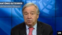 Sekjen PBB Antonio Guterres