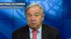 ကုလသမဂၢ အတြင္းေရးမႉးခ်ဳပ္ Antonio Guterres ဇြန္လ ၁၅ ရက္ေန႔တုန္းက မိန္႔ခြန္းေျပာေနစဥ္