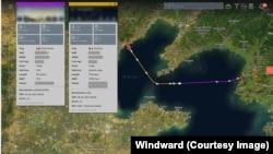 China to North Korea route