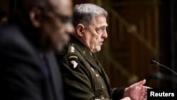 美軍參謀長聯席會議主席馬克米利。