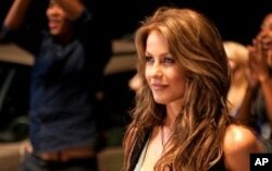 """Julianne Hough in a scene from """"Footloose"""""""