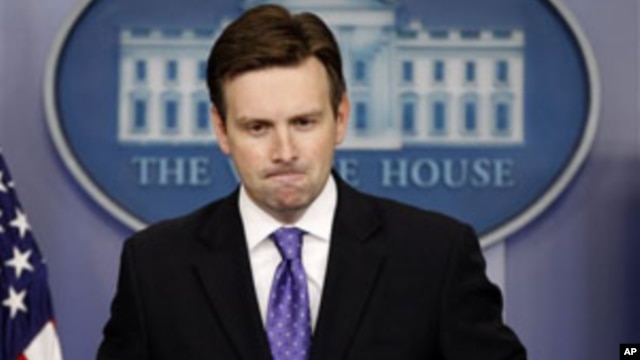 Deputy White House Press Secretary Josh Earnest (file photo)