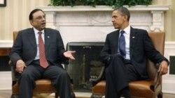 باراک اوباما رئیس جمهوری آمریکا و آصف علی زرداری، رئیس جمهوری پاکستان در ماه ژانویه در کاخ سفید ملاقات کردند