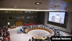 Nga një sesion i mëhershëm i Këshillit të Sigurimit