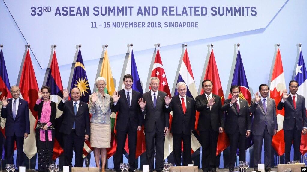 Ông Trump đã vắng mặt tại hội nghị thượng đỉnh Asean ở Singapore