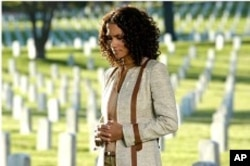 "Halle Berry in a scene from ""For Love of Liberty"""