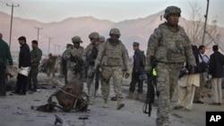 افغان پالیسی کی کنجی صدر کے پاس ہے: کارل آئیکن بیری