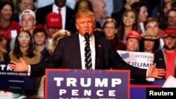 Ứng cử viên tổng thống Mỹ Donald Trump.