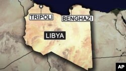 Carte de la Libye