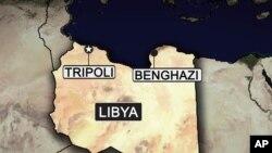 libya map