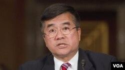 Duta Besar AS Gary Locke mengatakan bahwa aktivis Chen Guangchen tidak pernah meminta suaka.