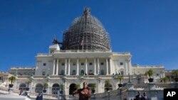 Le Capitole à Washington, D.C. est le bâtiment qui sert de siège au Congrès, le pouvoir législatif des États-Unis.