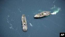 Kể từ ngày 17/10, các tàu hải quân, máy bay trực thăng và hơn 200 binh sĩ đã tìm kiếm 1 diện tích khoảng 30-60 km ngoài khơi bờ biển phía đông của Thụy Điển.