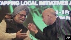 ملاقات رهبران هند و افغانستان