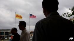 """加利福尼亞州的一個越南裔社區""""小西貢""""。"""