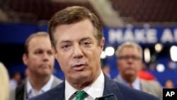 Cựu Chủ tịch chiến dịch tranh cử của ông Trump, ông Paul Manafort.