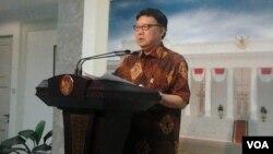 Menteri Dalam Negeri Tjahjo Kumolo (Foto: dok)