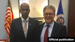 Somali Prime Minister and Sen. Franken