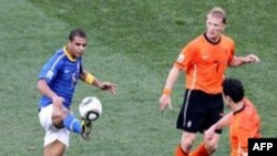 Brezilya Dünya Kupası'ndan Elendi