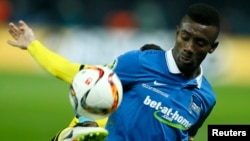 Le footballeur ivoirien Salomon Kalou le 20 avril 2016.
