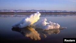 Băng biển trong khu bảo tồn động vật hoang dã bắc cực ở Alaska