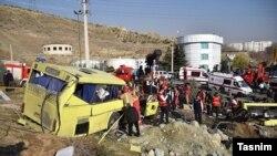 مدیرعامل ستاد معاینه فنی خودرو تهران گفت این اتوبوس «معاینه فنی» نداشت و شش سال پیش «از رده خارج» شده بود.