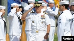 Harward, con un historial de 40 años en la fuerza naval, trabaja ahora para la firma Lockheed Martin, donde es ejecutivo de alto nivel.