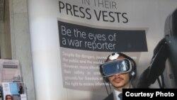 Виртуальная попытка побыть сирийскими журналистом