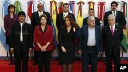 Mandatarios y cancilleres del Mercosur se reunieron en Argentina para definir la salida de Paraguay y el ingreso de Venezuela al bloque.