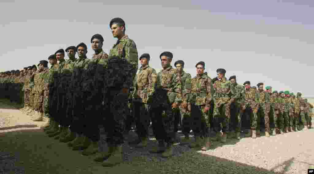 انتقال مسؤولیت امنیتی در مهترلام به قوای افغان