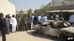 Vụ đánh bom Lễ Giáng sinh ở Maiduguri là một trong hàng loạt vụ tấn công có phối hợp trong ngày hôm đó khiến ít nhất 39 người thiệt mạng