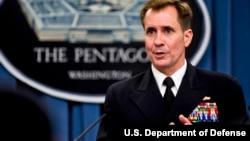 Адмірал Джон Кірбі, речник Пентагону