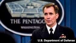 Phát ngôn viên của Ngũ Giác Đài, Chuẩn Đô đốc John Kirby