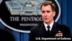 دریادار جان کربی، سخنگوی وزارت دفاع ایالات متحده آمریکا، پنتاگون